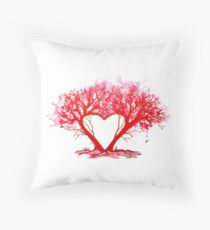 Heart of a Tree Throw Pillow
