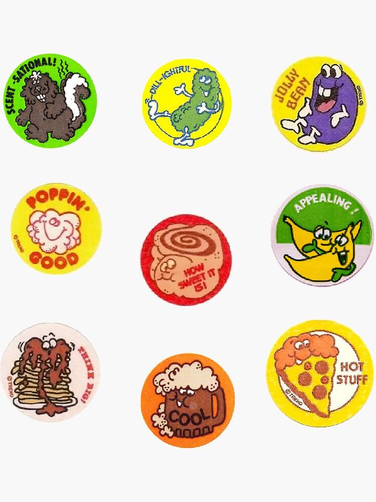 vintage scratch & sniff sticker pack #2  by rachelbb11