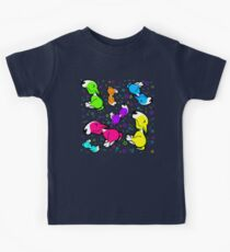 Colourful Innocent English Bull Terrier Kids Tee