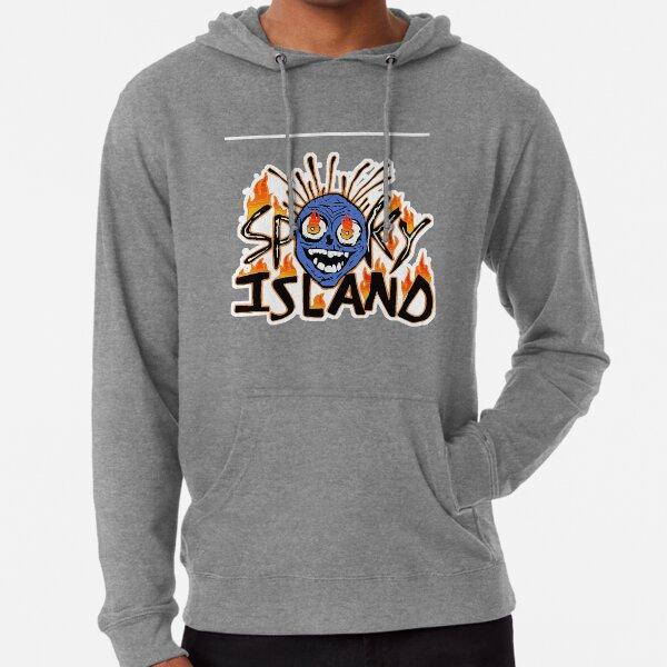 île fantasmagorique Sweat à capuche léger