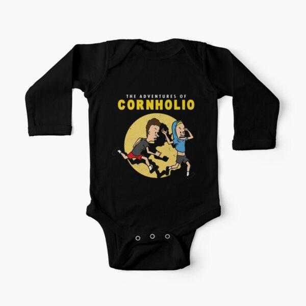 Las aventuras de Cornholio Body de manga larga para bebé