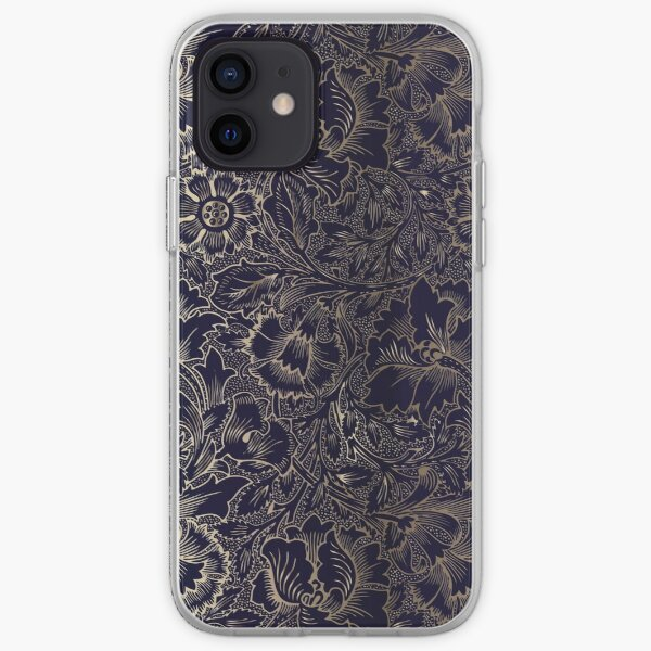 Damas floral | Coques iPhone 12 Pro | iPhone Coque souple iPhone