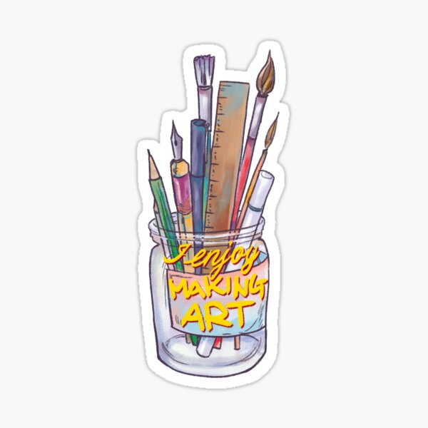Art! Sticker