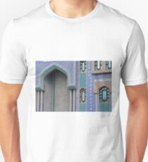 Colorful mosaic facade from mosque. Unisex T-Shirt