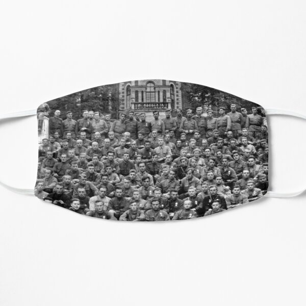 WWII soldiers Flat Mask