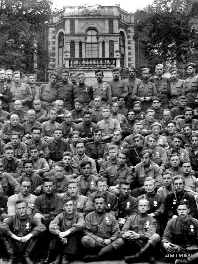 WWII soldiers by znamenski