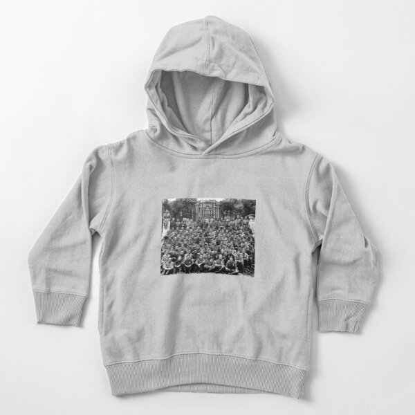 WWII soldiers Toddler Pullover Hoodie