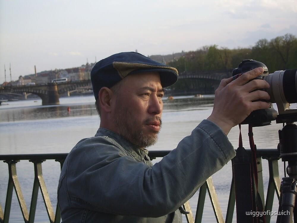 Japanese Tourist by wiggyofipswich