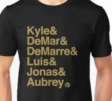 Toronto Raptors Starting 6ix Unisex T-Shirt