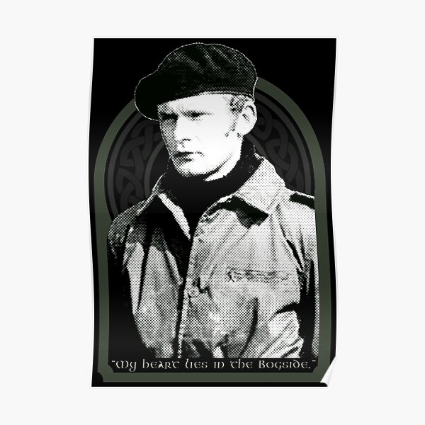 Martin McGuinness - My Heart Lies In The Bogside  Poster