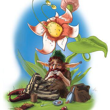 Smokin 'Dwarf by FinnerTom