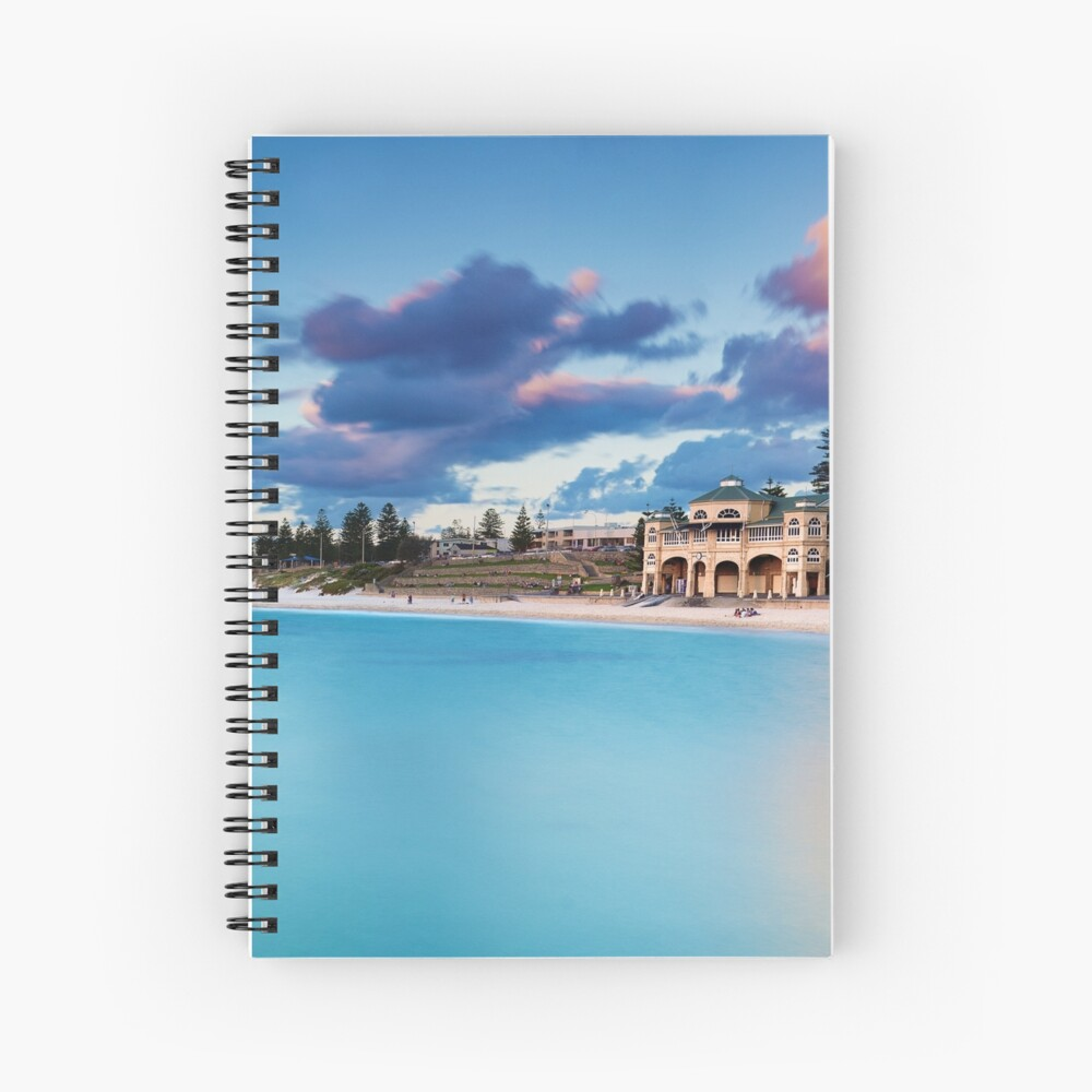 Indiana Teahouse Cottesloe Spiral Notebook