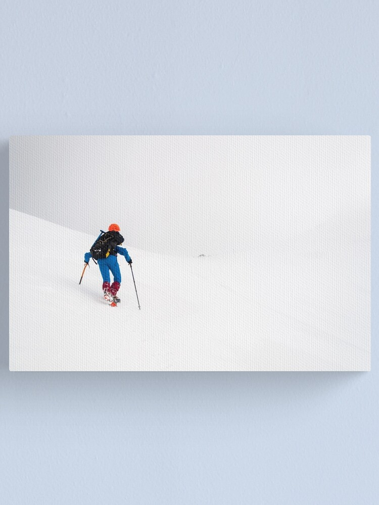 Alternate view of Into the white II Canvas Print