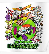 Dexters Labratory  Poster