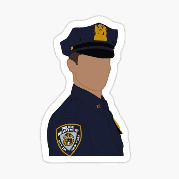 Blaues Blut Jamie Reagan Glänzender Sticker