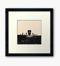 Need Coffee! Framed Print