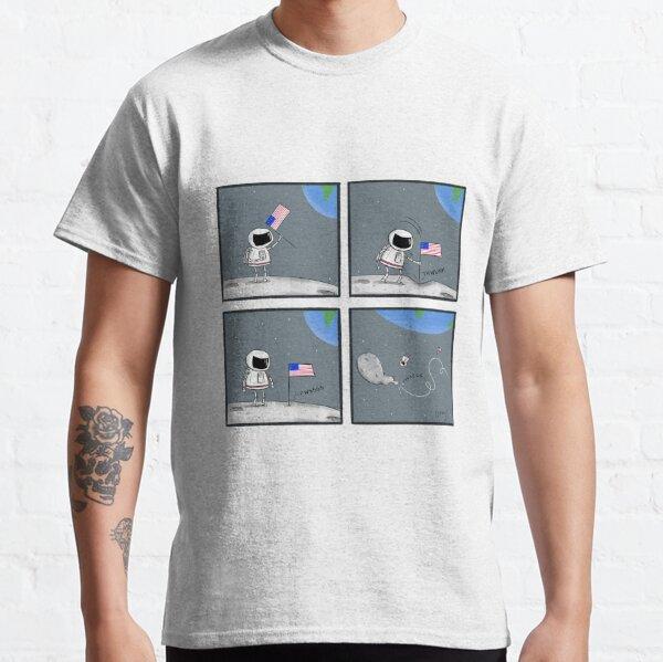 Moon Landing Comic Classic T-Shirt