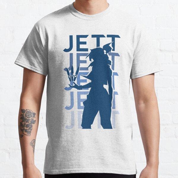 Valorant Jett Silhouette Classic T-Shirt