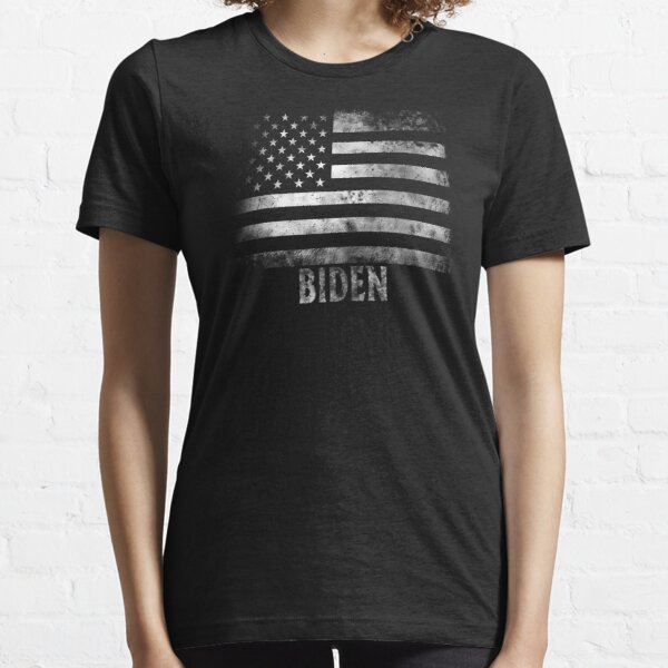 Biden Stars and Stripes Flag Faded Grunge Gift Essential T-Shirt