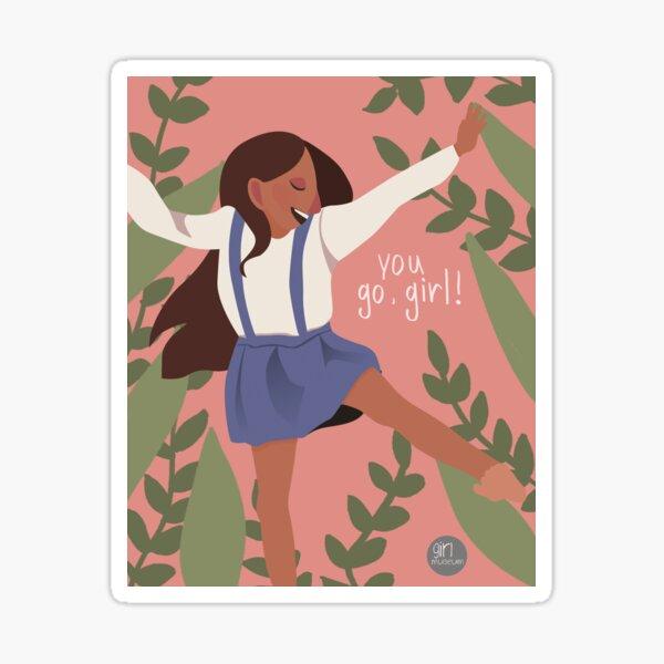 Go Girl Sticker