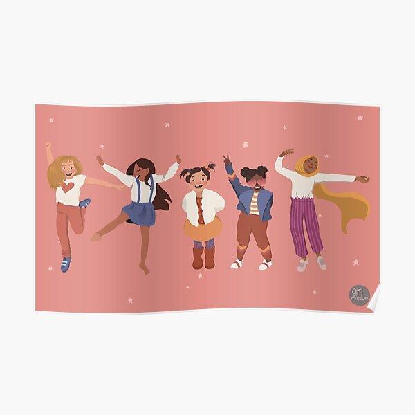Celebrate Girlhood Poster