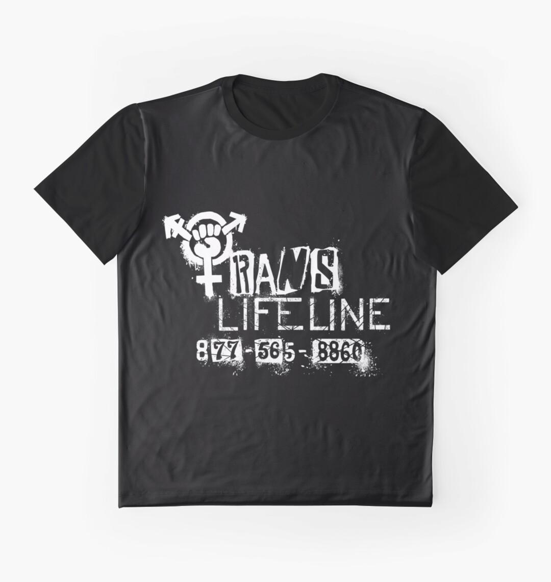 Design shirt redbubble - Trans Lifeline Design By Iria Villalobos
