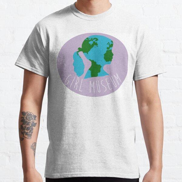 Girl Museum Around the World Classic T-Shirt