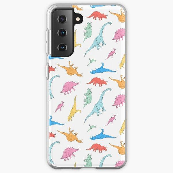 Dino Doodles Samsung Galaxy Soft Case