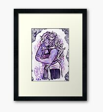 Stylish Crystal Framed Print