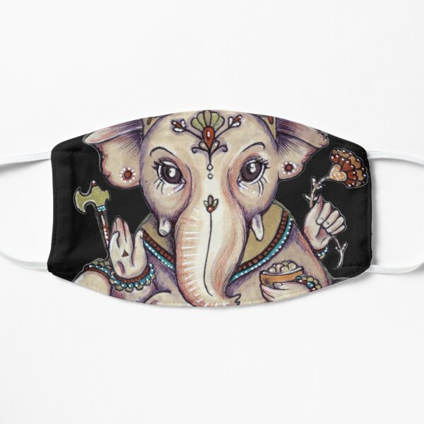 Ganesha Flat Mask