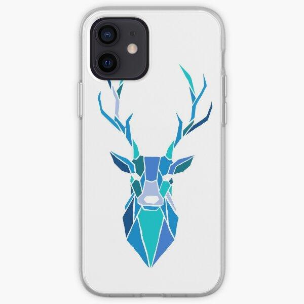 White Deer Spirit iPhone Soft Case