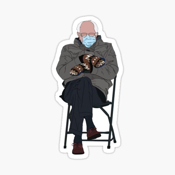 Mittens Bernie Sticker