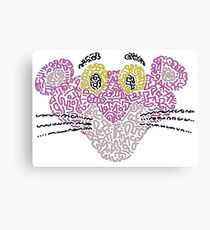 The Pink Panther Canvas Print