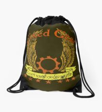 Fixed Gear - Cant Stop Wont Stop Drawstring Bag
