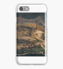William Blake Elohim Creating Adam  iPhone Case/Skin