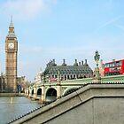 London Postcard by Christel  Roelandt