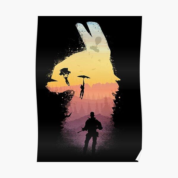 Nuits au coucher du soleil Poster
