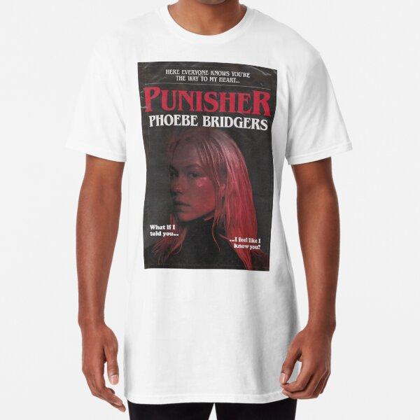 Punisher par Phoebe Bridgers mais c'est un roman de Stephen King des années 1980 T-shirt long