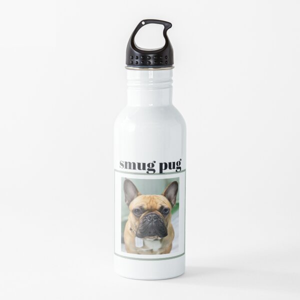 Smug Pug Water Bottle