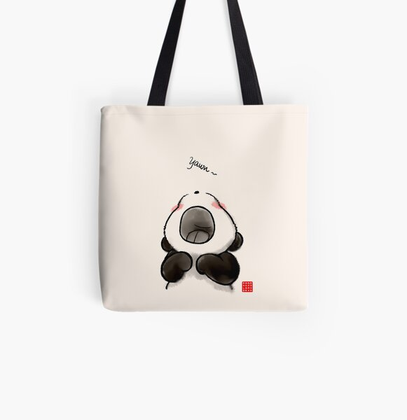 Yawn~ All Over Print Tote Bag