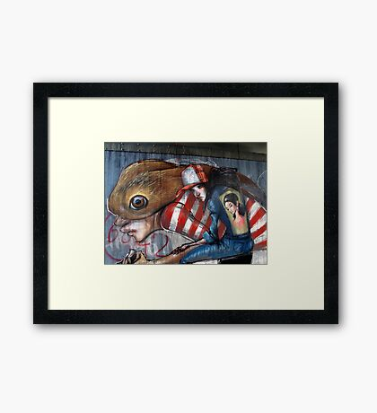 Demons II Framed Print