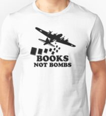 Funny Books Not Bombs T-Shirt