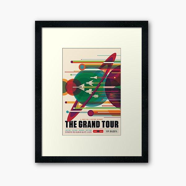 Die große Tour Gerahmter Kunstdruck