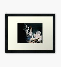 Launch in the Dark - Space Shuttle Columbia STS 93 Framed Print