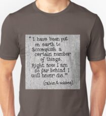 Quote Calvin and Hobbes T-Shirt
