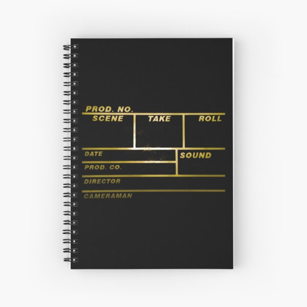 clapperboard Spiral Notebook