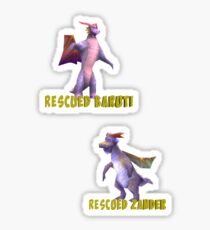 Baruti-Zander Sticker