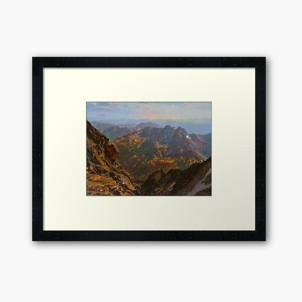 Ingalls Lake Framed Art Print