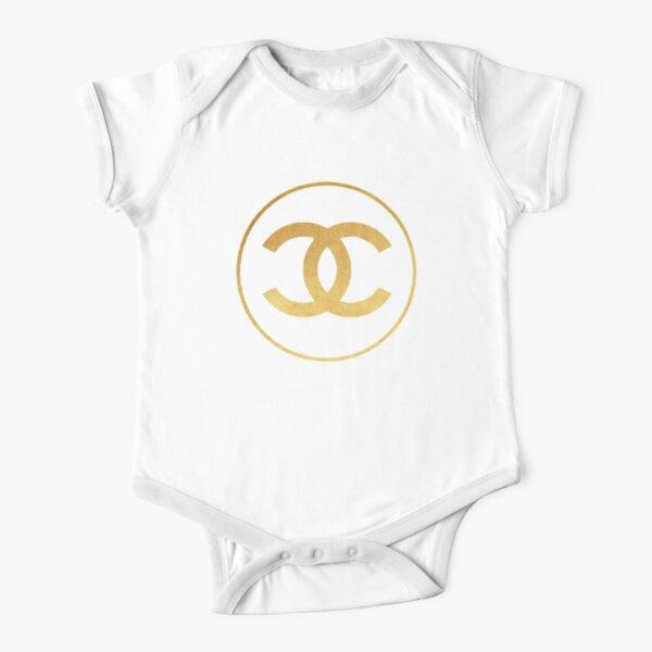amazing gold Short Sleeve Baby One-Piece