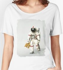 Space can be lonely Women's Relaxed Fit T-Shirt